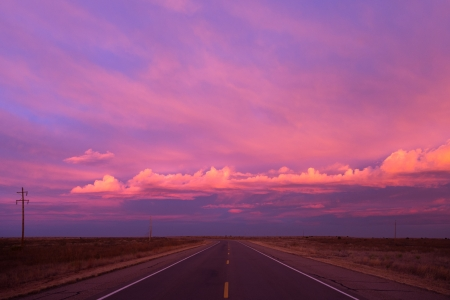 Road Trip - New Mexico Morning by artist Jamie Leasure